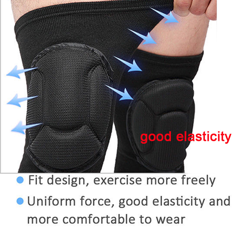 LPRED Fully Adjustable 1 Pair Knee Pads with Protective Gear Useful for Gardening Sports and Bike Riding for Safety 3