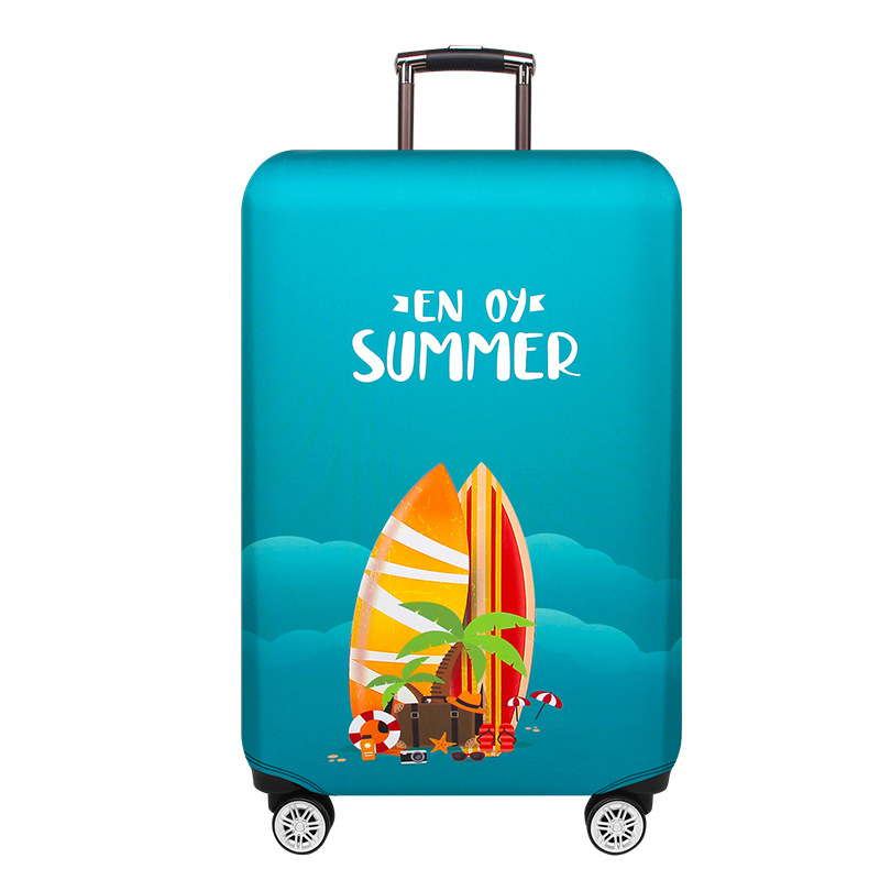 New Fashion Travel Luggage Cover Dustproof Protective Travel Suitcase Cover For 18-32 Inch Trolley Bag Case Luggage Accessories