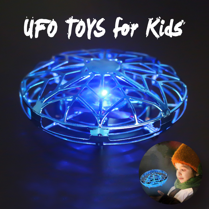 Mini Drone UFO Toys Infrared Sensing Control Hand Flying Aircraft Anti-collision Hand-operated Quadcopter Induction Toy Drone(China)