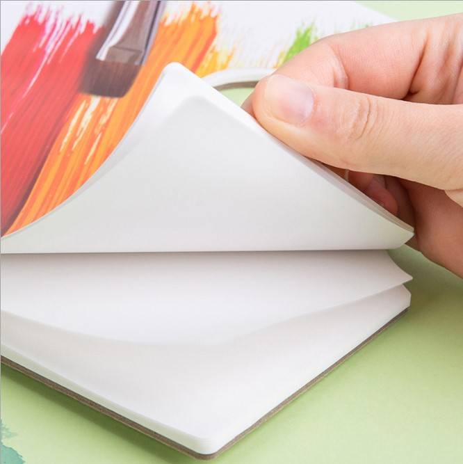 Color-Adjusting Paper Removable Tearable  Color-Adjusting Paper Gouache Acrylic Oil Painting Disposable Art Student Painting