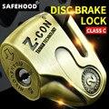 ZCON Motorcycle Lock Alloy Motorbike Theft Pretection Brake Bike Lock Motorcycle Lock Waterproof Brakes Disc Locks