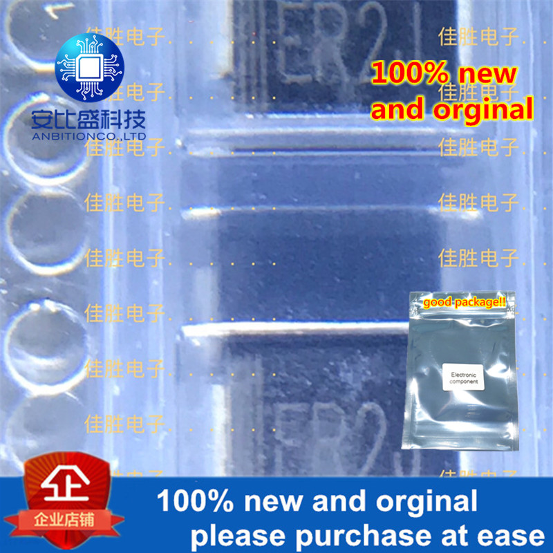 50pcs 100% New And Orginal ER2 2A600V DO214AA Ultrafast Recovery In Stock