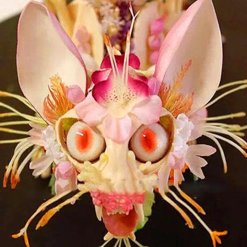 Plant Flower Bath Salts Japanese Bird Face Orchid Orchid Essence 100Pcs XZZ-289