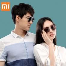 Sunglasses From Xiaomi Youpin Metal Square Frames Stylish UV-proof Anti-dazzle Sunglasses Outdoor Men Women Sunglasses Eyewear