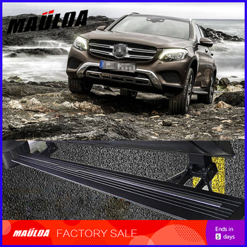 Car Accessories High quality aluminium alloy Automatic scaling Electric pedal side step running board for GLA GLC GLE GLK