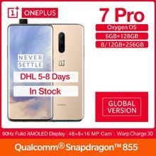 Global Version OnePlus 7 Pro 6/8/12G RAM 128/256G ROM  FULID AMOLED 6.67