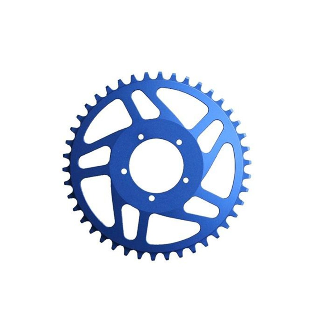 Free Shipping New  BAFANG BBS01/BBS02 42T Aluminum 6061 BLING RING Narrow Wide Tooth Pattern Chain Wheel