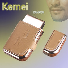Hair-Removal-Shaver Shaving Electric-Razor Rechargeable Vintage Kemei Professional 110-220V
