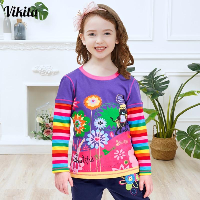 Toddler Baby Girls Kids Autumn Clothes Long Sleeve Party Cat Tops T-Shirt Dress