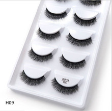 250 pairs of 50 boxes Eyelashes 3d mink eyelashes natural long Mink eyelashes 1cm 1.5cm 3d false eyelashes full