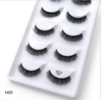 250 pairs of 50 boxes Eyelashes 3d mink eyelashes natural long Mink eyelashes 1cm-1.5cm 3d false eyelashes full - DISCOUNT ITEM  22% OFF All Category