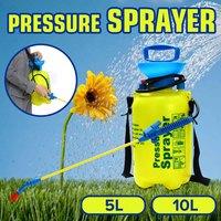 5/10L Pressure Sprayer Pump Garden Hand Sprayer Compressed Air Handheld Watering Spray Bottle For Irrigation Flower Tree Car