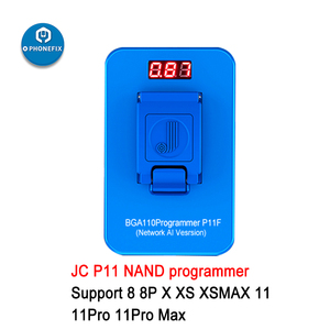 Image 3 - JC P11 BGA110 programcı için iPhone 8/8P/X/XR/XS/XSMAX JC P7 pro 5SE 7P /iPad NAND okuma yazma bellek yükseltme hata tamir