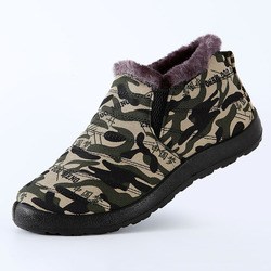 Botas de inverno botas de inverno sapatos de inverno botas de neve à prova dwaterproof água sapatos de trabalho de inverno