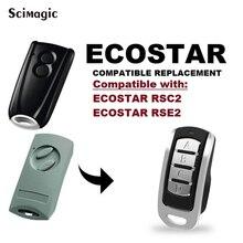 Clone HORMANN ECOSTAR RSC2 RSE2 433.92MHz Code roulant télécommande 4 CH duplicateur pour ECOSTAR portail contrôle Garage commande