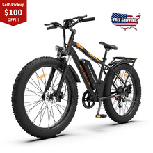 MOTOR Bicycle Electric-Bike Snow-Mountain-Ebike Lithium-Battery 26inch-Fat-Tire 750W