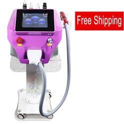 Láser Nd Yag portátil Picosure picosegundo láser con carbón para blanquear la piel máquina de eliminación de tatuajes envío gratis
