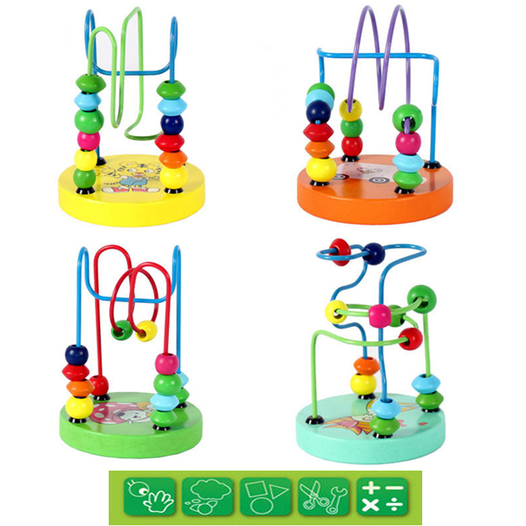 HOT-children-s-toys-baby-doll-kids-Educational-toy-beads-string-of-beads-game-Mini-around