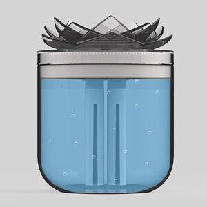 Image 4 - 蓮の花の空気加湿器アロマオイルusb空気清浄機ホーム車の充電器とミストメーカーためディフューザー暖かい光