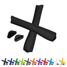 ToughAsNails ゴムキット交換アーム耳靴下 & 鼻パッドのためのオークリーピット · ブル OO9127 サングラスの複数のオプション