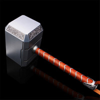 1:1 Scale Avengers Thor Arms Mjolnir Figurine Dolls Toys Full Metal Statue Bust Action Figure Collectible Model Toy Gift