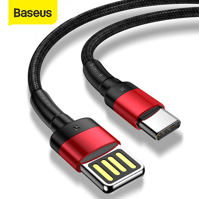 Baseus USB Type C Cable Quick Charge 3.0 USB C Cable for Samsung S9 S10 Xiaomi Mi 9 Upgrade Fast Charging Cable USB C Data Cord|Mobile Phone Cables|   - AliExpress