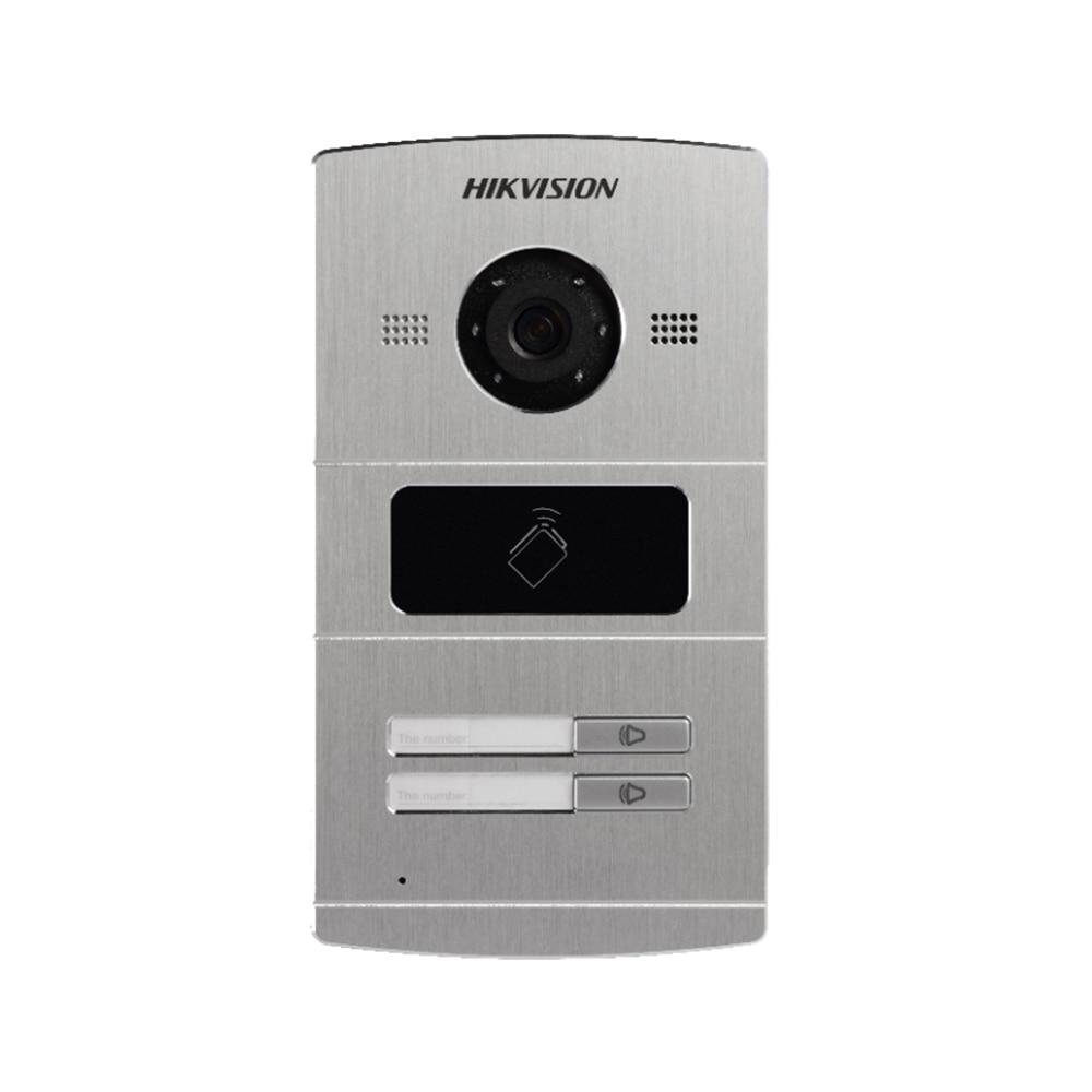 DS-KV8102-IM DS-KV8202-IM DS-KV8402-IM Hik mains libres interphone vidéo 1, 2 ou 4 Boutons En Métal de Porte de Villa Station 3