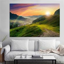 Плакат в скандинавском стиле настенные принты красивый пейзаж