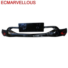 Lip tuning Rear Diffuser Car Styling Automovil Mouldings Exterior Front Bumpers protector 17 18 FOR Chevrolet Equinox