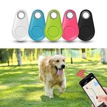 Köpek evcil hayvan akıllı GPS takip cihazı anti-kayıp Alarm etiketi kablosuz Bluetooth çocuk takip cihazı cüzdan çanta anahtar bulucu bulucu Anti kayıp alarmı