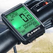 INBIKE водостойкий велосипедный компьютер беспроводной MTB велосипед Велоспорт одометр непромокаемый секундомер Спидометр часы светодиодный цифровой скорость
