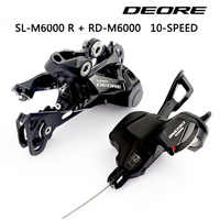 DEORE M6000 Groupset SL M6000 SHIFT LEVER + RD M6000 REAR DERAILLEUR MTB DEORE 10-SPEED SL+RD M6000 Groupset