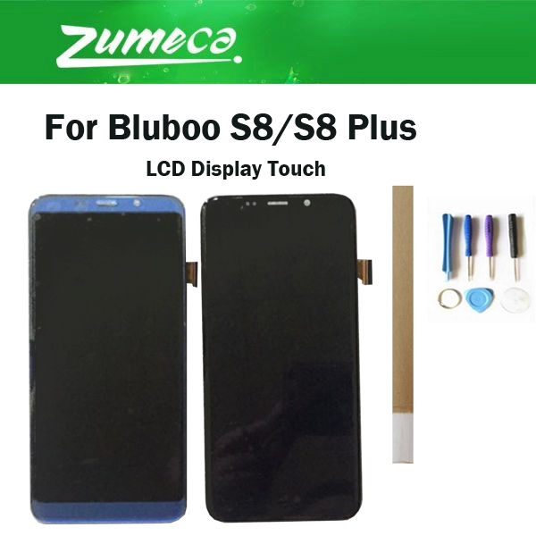 Digitizer Lcd-Display-Screen S8 Plus S8/bluboo Original Black for Gold Blue with  title=