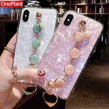 Glitter Phone Case For iPhone XR XS MAX X 8 7 6 6S Plus Diamond Bracelet For Samsung S8 S9 S10 Plus Note 9 8 Soft Silicone Cover редакция журнала домашние цветы домашние цветы 07 2018