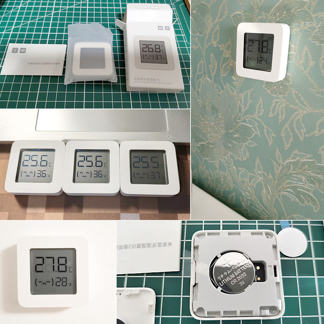 2021 Xiaomi Mijia Bluetooth-compatible Thermometer 2 Wireless Smart Electric Digital Hygrometer Thermometer Work with Mijia APP 6