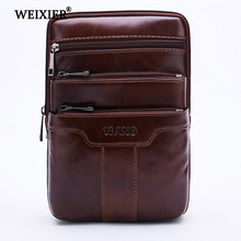New Fashion Genuine Leather Messenger Bags For Male Crossbody Bags Designer High Quality Men Shoulder Bag Casual Zipper Office new high quality canvas bag male solid cover zipper casual shoulder school bags men crossbody bag men s messenger bags hqb2014