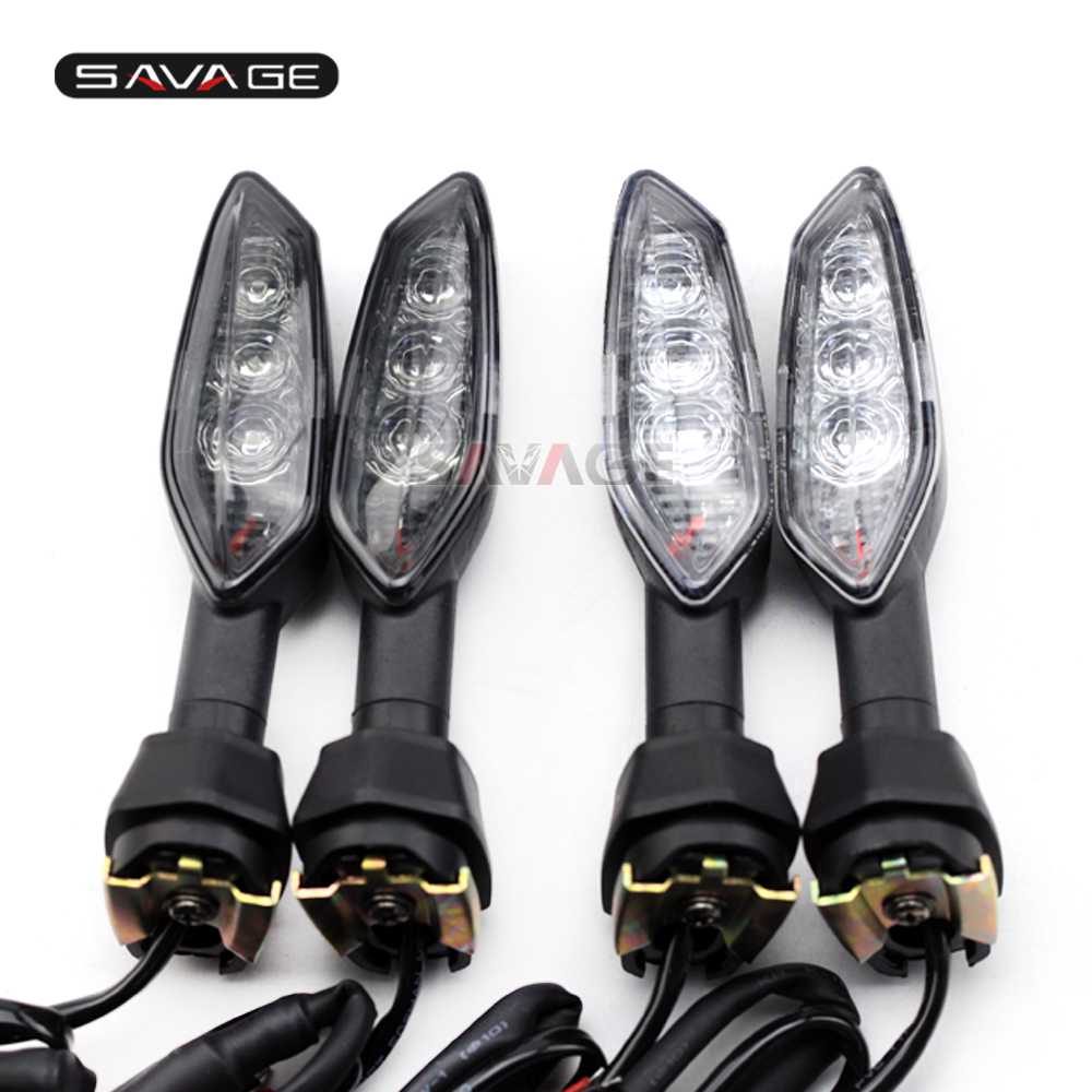LED Turn Signal Indicator Light For KAWASAKI Z1000 Z900 Z800 Z750 Z650 Z300 Z400 Z250 Z125 Motorcycle Accessories Blinker Lamp