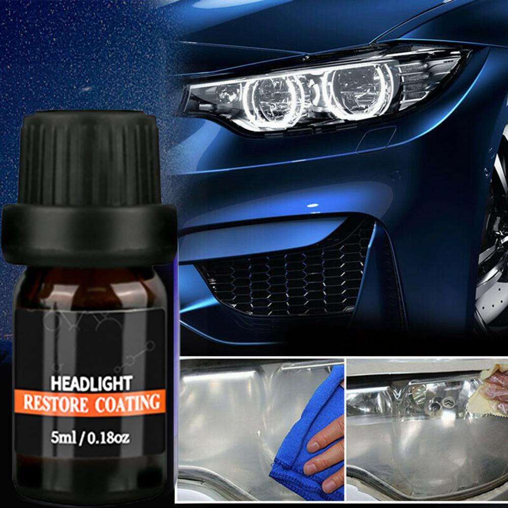 10ml glass window glass rain and rain lens repair kit headlight brightening headlight repair kit car styling