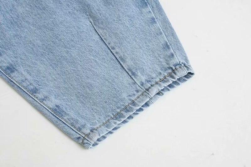 Denim Pants Women High Waist Harem Pants 2019 Loose Jeans Plus Size Trousers Women Casual Streetwear