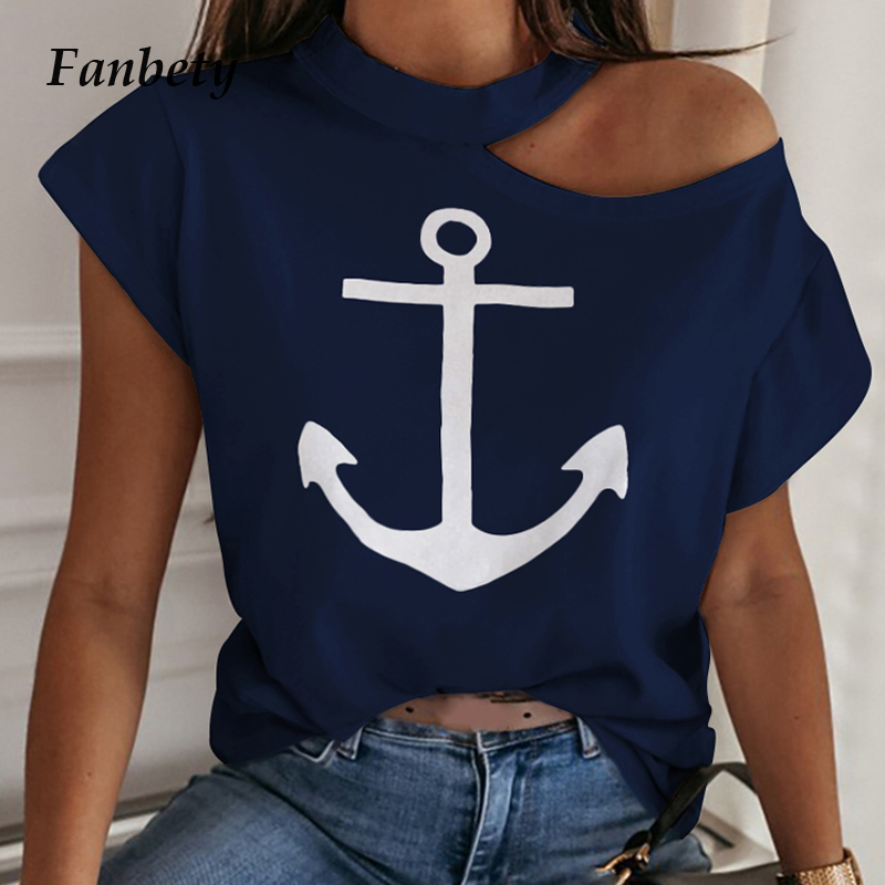 Sexy Off Shoulder Solid Color Blouse Women Shirts 2020 New Summer Short Sleeve Tops Casual Loose Halter Backless Ladies Blouses