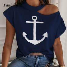 Sexy Off Shoulder Effen Kleur Blouse Vrouwen Shirts 2020 Nieuwe Zomer Korte Mouw Tops Casual Losse Halter Backless Dames Blouses(China)
