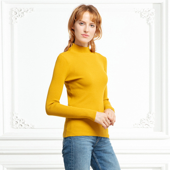 Marwin New-coming Autumn Winter Turtleneck Pullovers Sweaters Primer shirt long sleeve Short Korean Slim-fit tight sweater 8