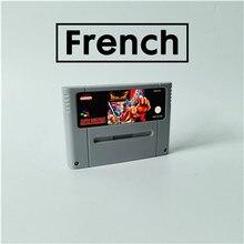 브레스 오브 파이어 프랑스어 RPG 게임 카드 EUR 버전 영어 배터리 저장