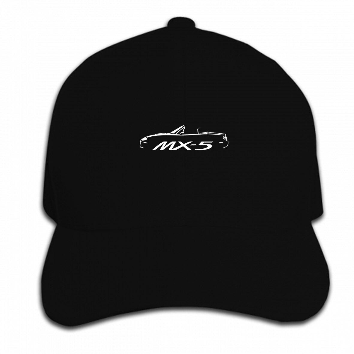 Print Custom Baseball Cap Man Mazda Mx5 Inspired Car Graphic Hat Peaked Cap