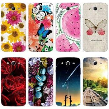 Fundas de teléfono para Samsung Galaxy Mega GT i9150 i9152 i9158 i8550 i8260 N7505 funda estampada de silicona suave TPU