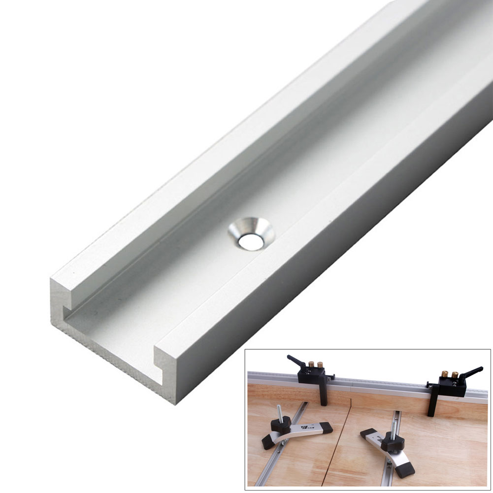 Woodworking Jig Tool DIY Wide Use Home Fixture Sliding With Scale Multifunction Portable T Slot Router Table Miter Track