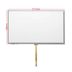 For 9inch 211*126MM AT090TN10 AT090TN12 Middle cable Digitizer Resistive Touch Screen Panel Resistance Sensor(China)