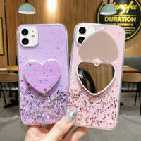 For Samsung Galaxy A71 A51 S 20 Plus Lite Note 10 M 80 90 70 50 40 30 20 10 91 S E Ultra Case Fashion Glitter Mobile Phone Bag