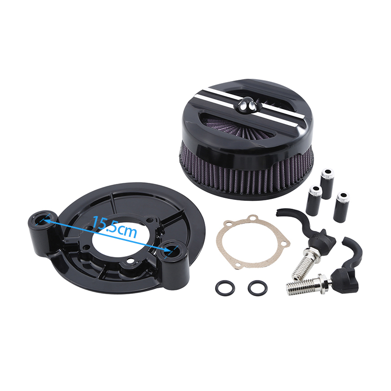 Motorcycle-Air-Cleaner-Intake-Filter-Set-For-Harley-Sportster-XL-Models-1200-Custom-Iron-883L-SuperLow