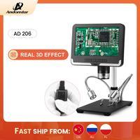 Andonstar-microscopio Digital para soldar, Dispositivo de soldadura para reparación de reloj de teléfono, SMD/SMT, blanco y negro, 1080P, oferta